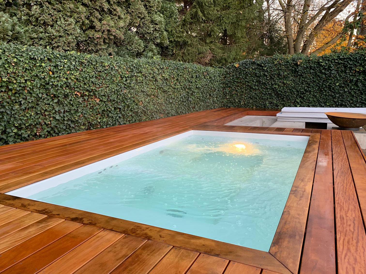 Tuin Laten Aanleggen : Buitenzwembad laten aanleggen een monoblock zwembad past altijd
